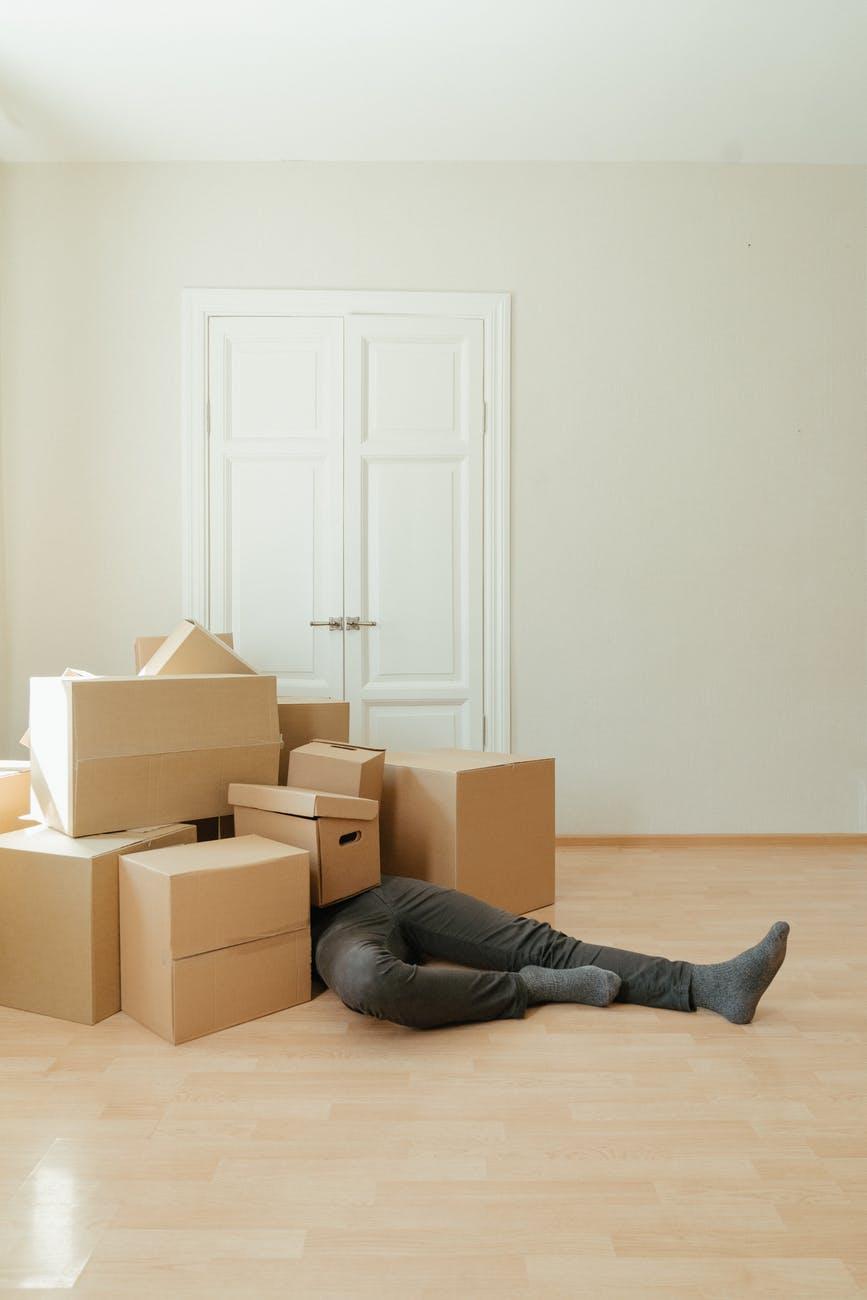 بسته بندی نادرست اثاثیه منزل