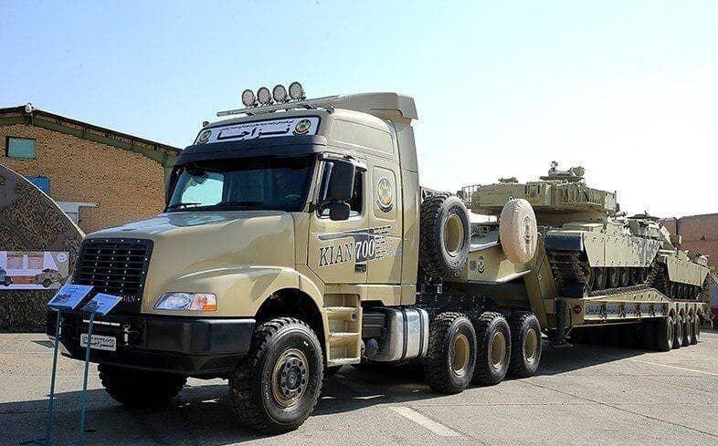 کامیون سنگین ایرانی